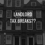 Landlord tax breaks blog