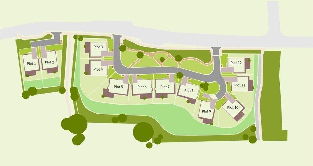 Pound Lane site plan