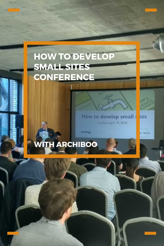 How to develop small sites conference