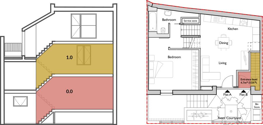 Apt 60B ground floor