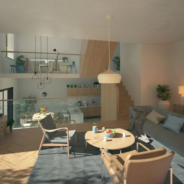 Blenheim Grove interior fit out CGI