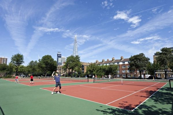 London Bridge tennis courts