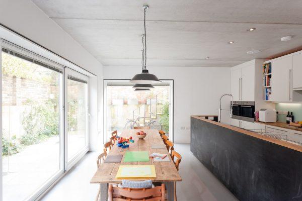 Zog House self-build kitchen
