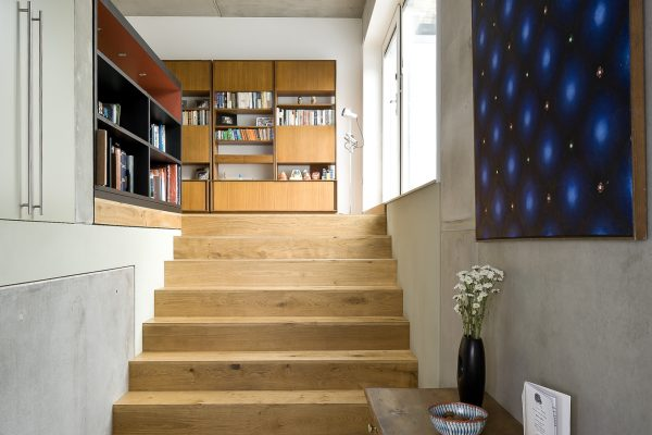 Zog House self-build stairs