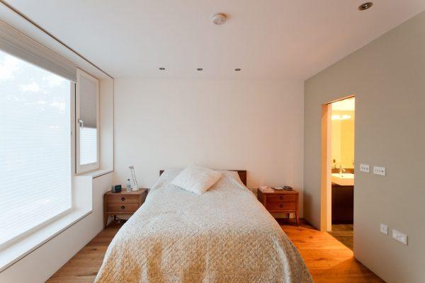 Zog House self-build bedroom
