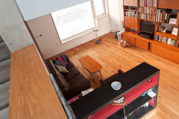 Zog House self-build living room