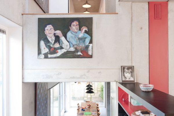 Zog House split level design