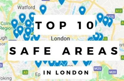 Top 10 safe areas 600k