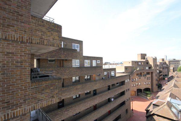 St Katharine Docks balcony view