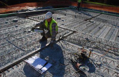 Zog House construction site & builder