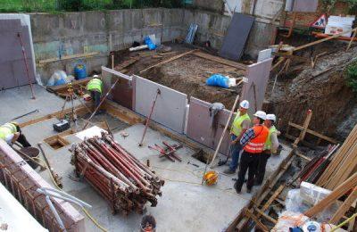 Zog House construction site & builders